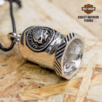 Harley-Davidson® Sculpted Willie G Skull Logo Ride Bell