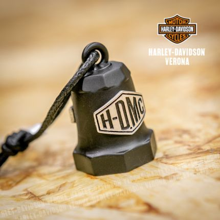 Campanella Harley-Davidson® Sculpted H-DMC Logo silver