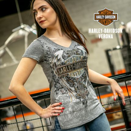 T-Shirt da Donna Harley-Davidson® MASTER CLASS