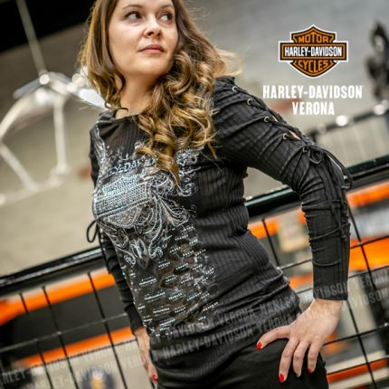 Maglia da donna Harley-Davidson® ESOTERIC TRUTH, Black