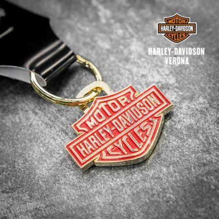 Portachiavi Harley-Davidson® 2D Die Struck