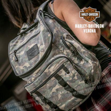 Zaino Harley-Davidson® Camo Print Ruck Sak