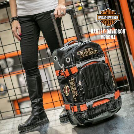 Borsone Harley-Davidson® Duffel Black Small