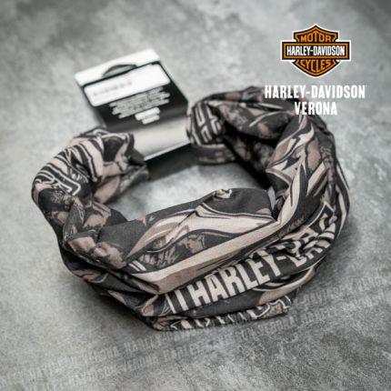 Tubolare Harley-Davidson® Grim Black&Brown