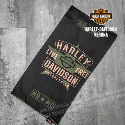 Tubolare Harley-Davidson® Resolute Black-Green