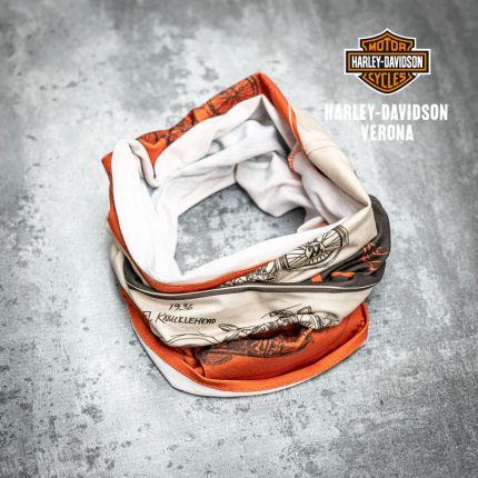 Tubolare Harley-Davidson® Timeline Rust Orange