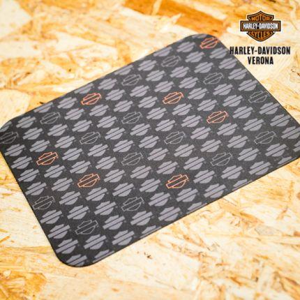Harley-Davidson® Blank B&S Repeat Neoprene Black Mousepad