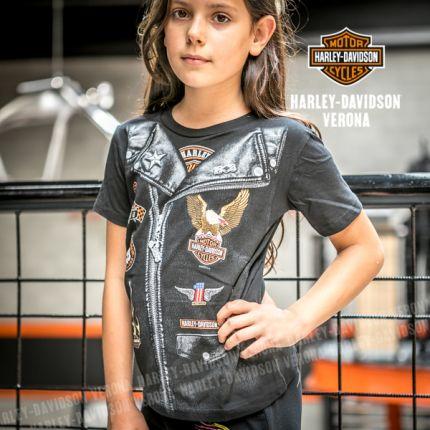 T-Shirt con logo Harley-Davidson® Verona Tyke