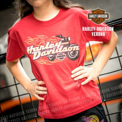 T-Shirt Harley-Davidson® Verona Bike Blaze