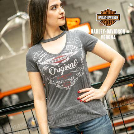 T-shirt Harley-Davidson® Lady Back Verona