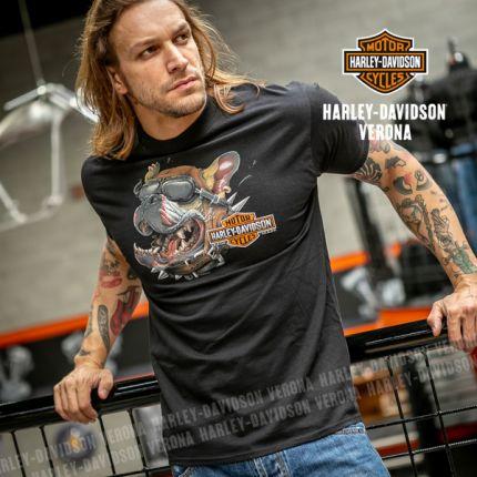 T-Shirt da Uomo Harley-Davidson® VERONA ''Dog Gone''