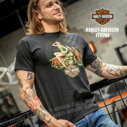 "T-shirt Harley-Davidson® VERONA ''Vintage PinUp"""
