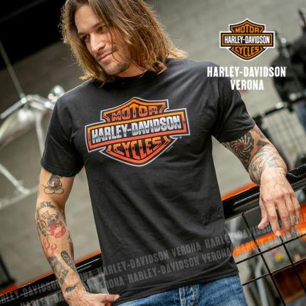 T-Shirt da Uomo Harley-Davidson® VERONA ''B&S''