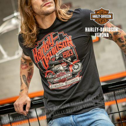 T-Shirt H-D® Verona Hidraglide Label