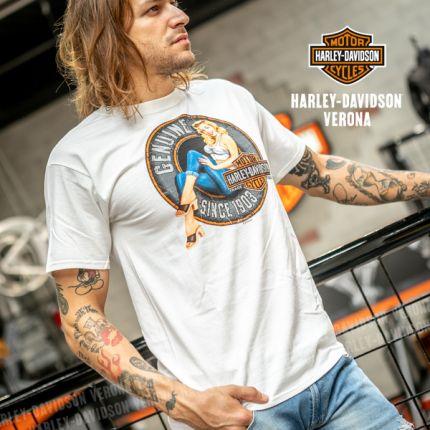 T-Shirt H-D® Verona Pinup Sign