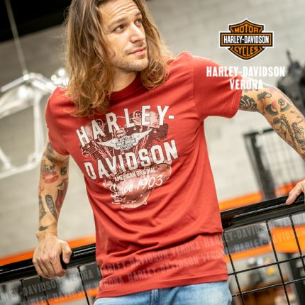 T-Shirt H-D® Verona Knuckle Up