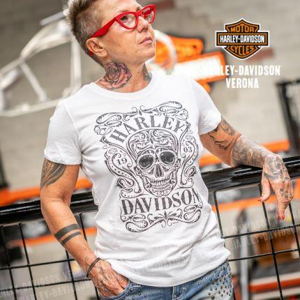 T-Shirt H-D® Verona Keen Skull