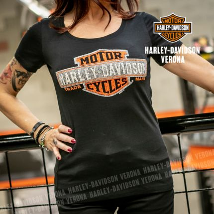 T-Shirt H-D® Verona Multiply Scoop