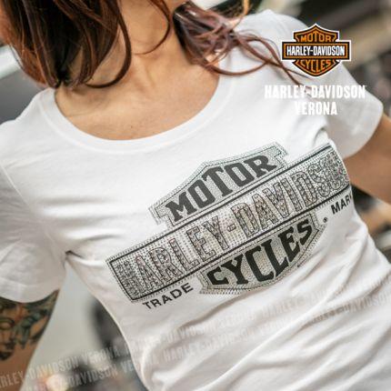 T-Shirt H-D® Multiply Scoop White