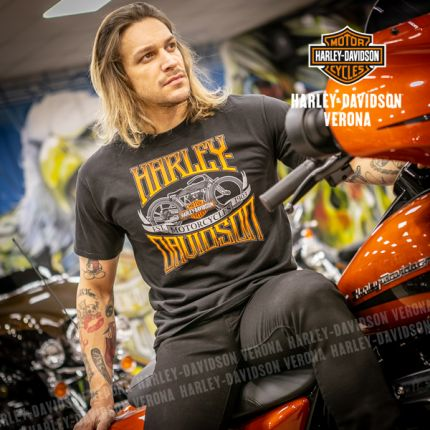 T-Shirt H-D® Curved Name