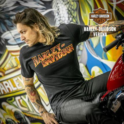 T-Shirt H-D® Blazing Usa