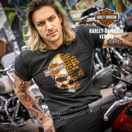 T-Shirt Logo H-D® Verona Split Skull