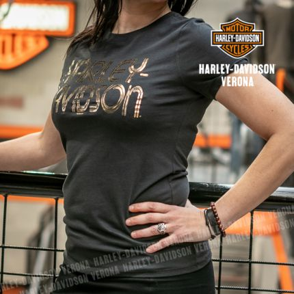 T-Shirt Logo H-D® Verona Star Gazer