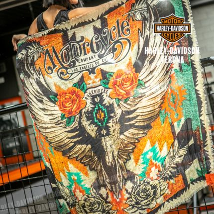 Sciarpa Rude Riders® Mex Skull Roses