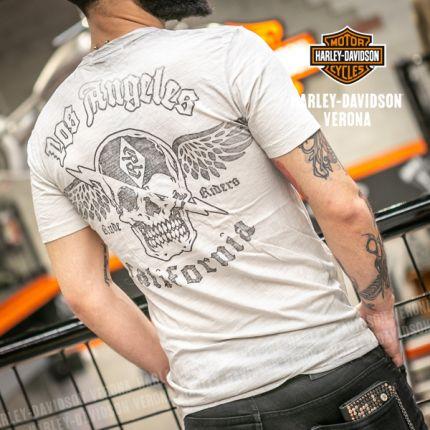 T-Shirt Rude Riders® Skull & Wings