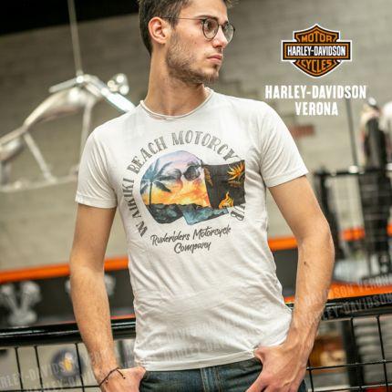 T-Shirt da Uomo Rude Riders® Waikiky Beatch