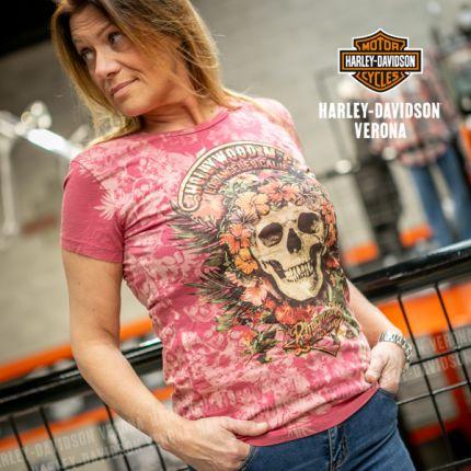 T-Shirt Rosa Rude RIders® Hollywood