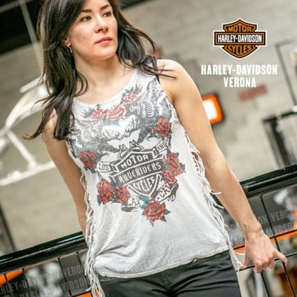 T-Shirt  Rude Riders® SHIELD AND ROSES