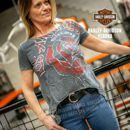 T-shirt da Donna Rude Riders® L. A. Tatoo