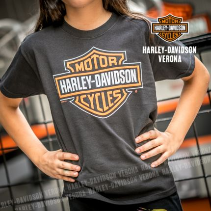 T-Shirt con logo Harley-Davidson® Verona Bar & Shield