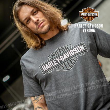 T-Shirt da Uomo Harley-Davidson® VERONA ''Long Logo''