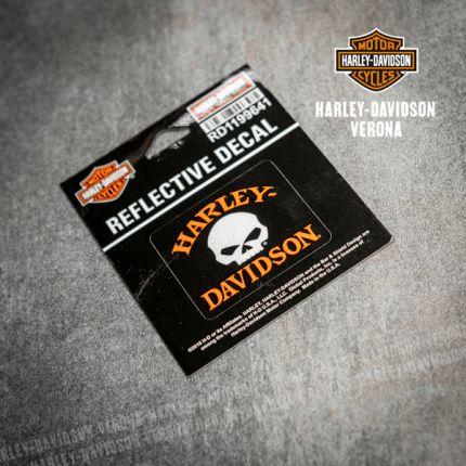 Adesivo Harley-Davidson® Reflective Skull