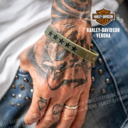 Bracciale Silicone Harley-Davidson® Stars Camouflage