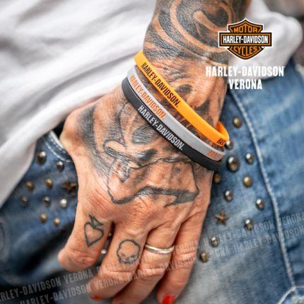 Braccialetti gomma Harley-Davidson® Set da 3