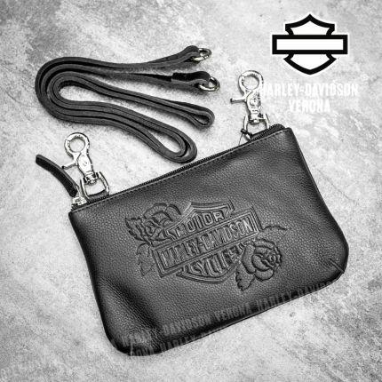 Borsetta Harley-Davidson® Rose B&S Emboss