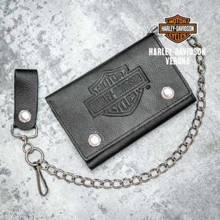 Portafoglio Harley-Davidson® Embossed Trucker