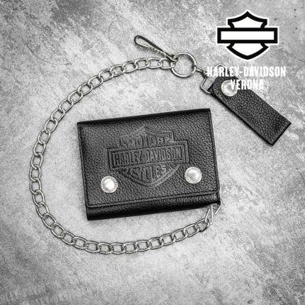 Portafoglio Harley-Davidson® B&S Logo Embossed