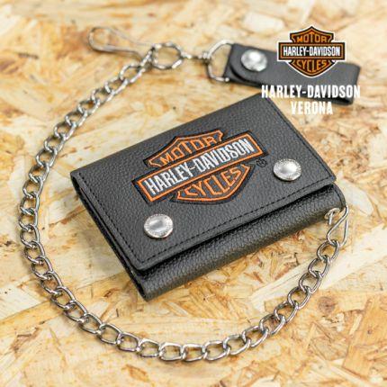 Porta Foglio Harley-Davidson® con logo B&S Medium Trucker