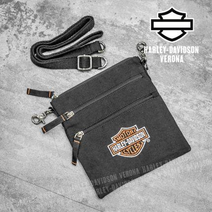 Tracolla Harley-Davidson® Bar&Shield Logo Clip Bag
