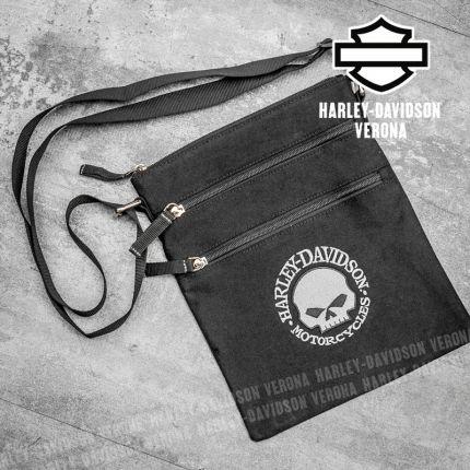 Tracolla Harley-Davidson® Willie G Skull Logo
