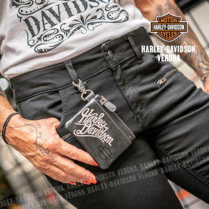 Portamonete Harley-Davidson® Embroidery